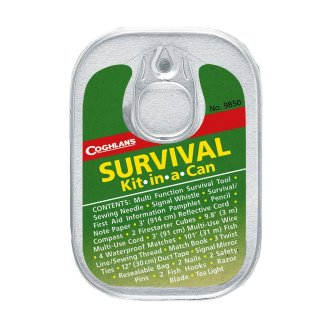 Survival Kit Kit-in-a-can, 33-tlg.