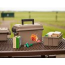 Transportkiste Shotshell Field and Range Case SFRC, mit Einsatz, coyote