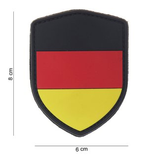 Patch Gummi Schild BRD