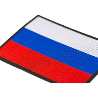Patch Stoff Russia Flag, farbig