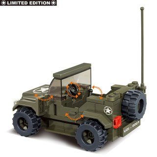 Bausatz WW II US-Army Jeep M38-70207